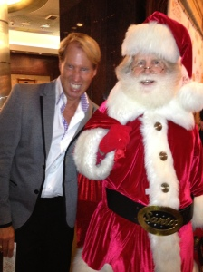 Danny with Santa