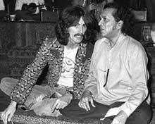 Ravi and George Harrison