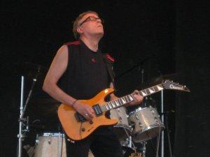 Paul Speer on guitar