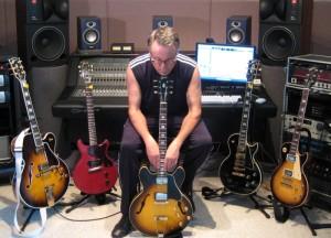 Paul Speer in his studio