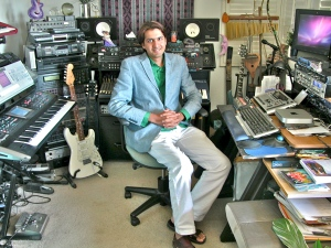 Ricky KeJ at Michael Diamond's Studio