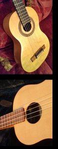 David Poplar ukulele's