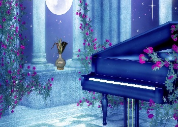 night piano