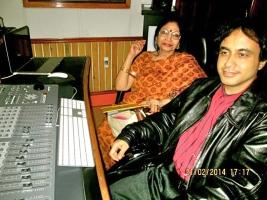 Vocalist Vidushi Sumitra Guha and Rupam