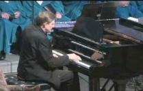 Rick at the piano