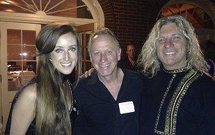 Charlee, Will Ackerman, David at ZMR Awards