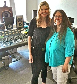 Fiona Joy & Cookie Marenco in the studio