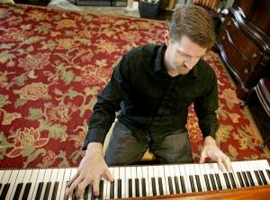Ryan at the piano