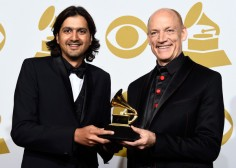 Ricky Kej & Wouter Kellerman at The GRAMMY's