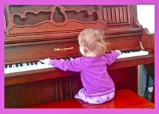 daughter at piano