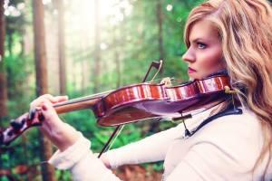Jennifer & violin