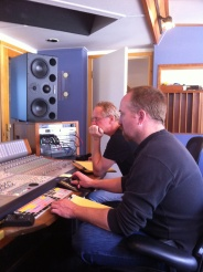 Will Ackerman & Tom Eaton in the studio