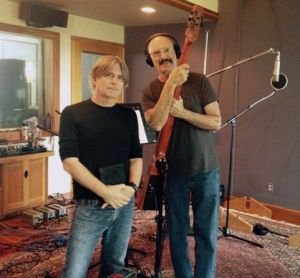Todd & bassist Tony Levin