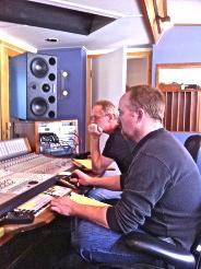 Tom & Will at Imaginary Road Studios