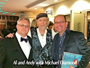 Al Andy and Michael Diamond