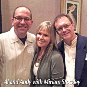 with Miriam Stockley 2014