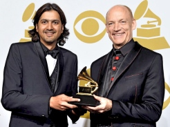 Ricky Kej and Wouter Kellerman