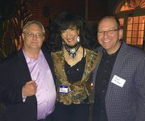 Lisa with Al Jewer & Andy Mitran