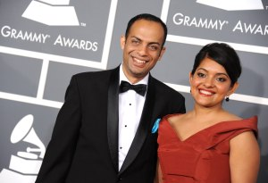 Arun and Roshni at The Grammys