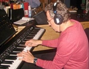 Yaron Gershovsky in the studio